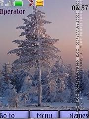 January morning theme screenshot