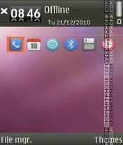 Ubuntu 02 theme screenshot