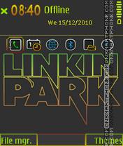 Linkin park 5803 tema screenshot