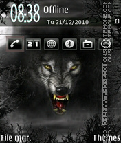 Wolf 07 theme screenshot