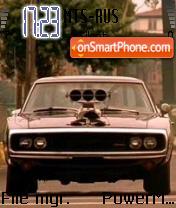 Big Man v1 Mustang theme screenshot