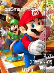 Скриншот темы Mario Bros 02