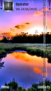 Colorfulk Lake theme screenshot