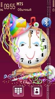 New Year 2013 theme screenshot