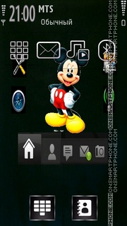 Mickey Options theme screenshot