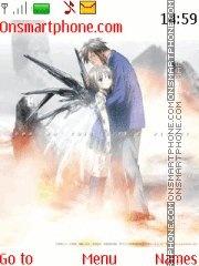 Saikano Chise X Shuji theme screenshot