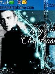 Hayden Christensen theme screenshot