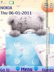 Teddy present theme screenshot