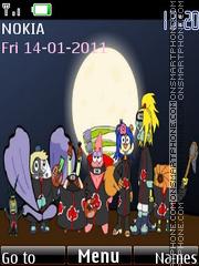 Akatsuki Bob Esponja tema screenshot