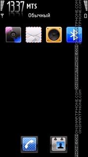 Скриншот темы Iphone