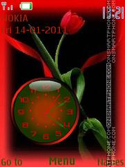 Capture d'écran Clock thème