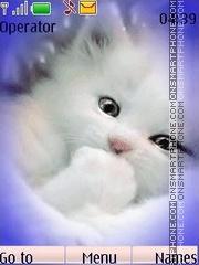 Kitten animated theme screenshot