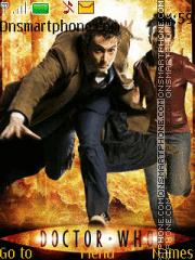 David Tennant/Doctor Who theme screenshot