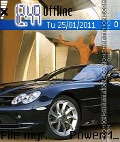 Mercedes es el tema de pantalla