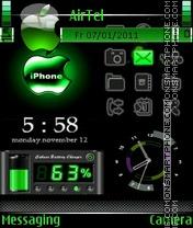Iphone theme tema screenshot