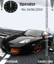 Porsche 2011 theme screenshot