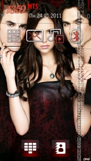 Vampire diaries theme screenshot