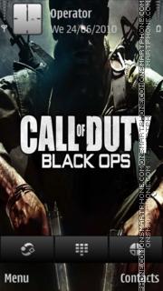 Call of Duty: Black Ops es el tema de pantalla