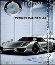 2011 Porsche 918 RSR theme screenshot