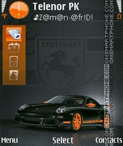 Porsche Car theme screenshot