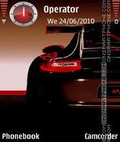 Carrera 911 Turbo theme screenshot