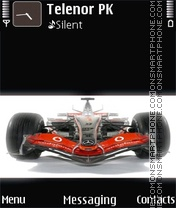 McLaren F1 theme screenshot