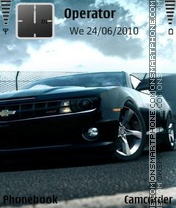 Muscle car 2011 theme screenshot