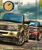 Range Rovers es el tema de pantalla