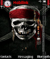 Pirates of caribbean 5 theme es el tema de pantalla