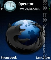 Firefox Beta theme screenshot