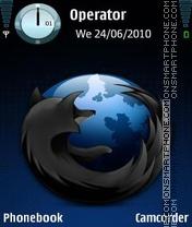 Скриншот темы Firefox Beta