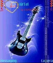 Guitar Animated es el tema de pantalla
