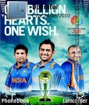 Icc worldcup 2011! es el tema de pantalla
