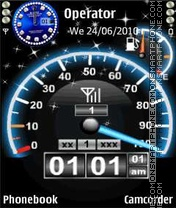 Flash Meter V3 Theme-Screenshot