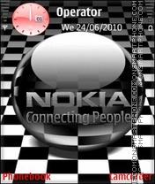 Animated Nokia es el tema de pantalla