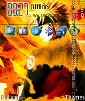 Anime naruto theme screenshot