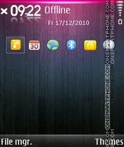 Colour S60 V3 theme screenshot