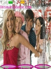 High School Musical 07 theme screenshot