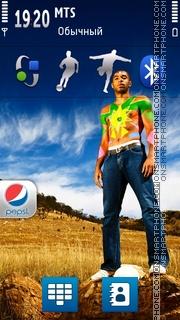 Pepsi 11 theme screenshot