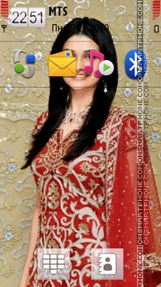 Prachi Desai 01 theme screenshot