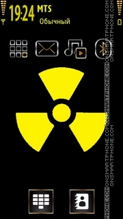 Скриншот темы Radioactive 04