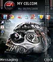Скриншот темы Terminator Tscc
