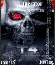 Скриншот темы Terminator 4