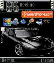 Скриншот темы RX8