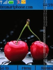 Cherries 03 theme screenshot