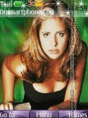 Buffy the Vampire Slayer theme screenshot