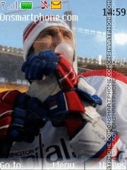 Ovechkin Aleksandr Winter Classic theme screenshot