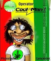 Cool Man es el tema de pantalla