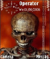 Skeleton es el tema de pantalla