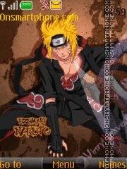 Скриншот темы Naruto Akatsuki 01